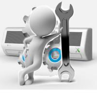 Стандартный монтаж компактной вентиляции для дома